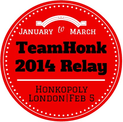 team honk baton relay 2014 logo
