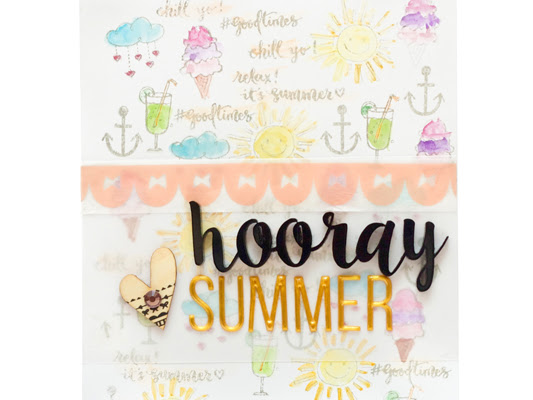 PinkFresh Studio Design Team : July Kit