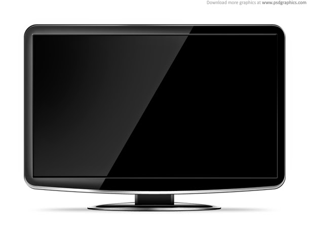 LCD HD TV Template