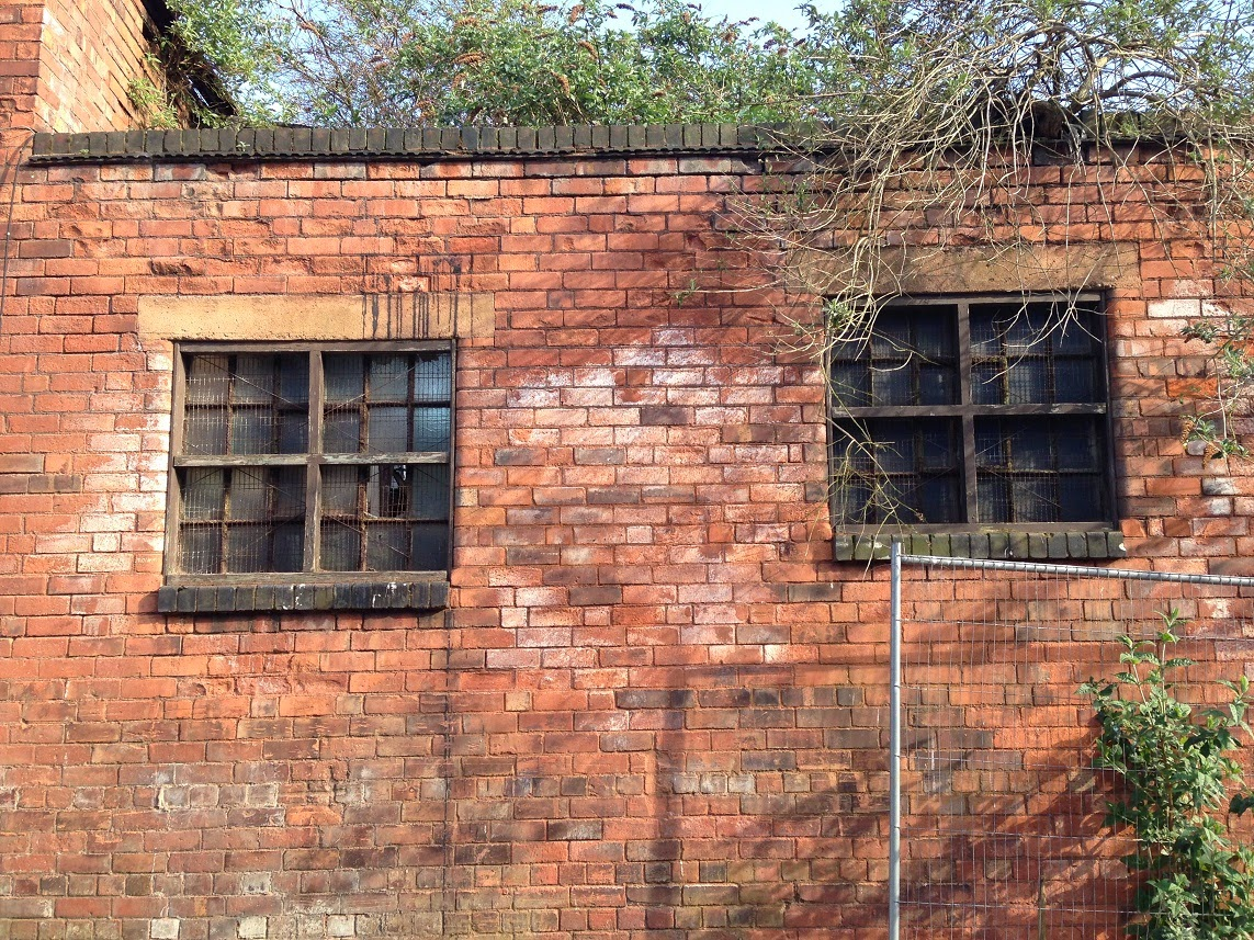Abandoned buildings, Camden Street, Jewellery Quarter, Birmingham