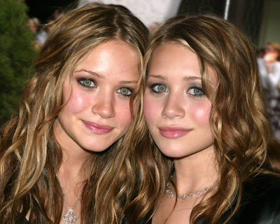 Mary Kate & Ashley Olsen.