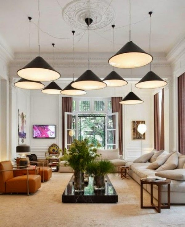 Living Room Ceiling Lamps Modern Style To Design Your
