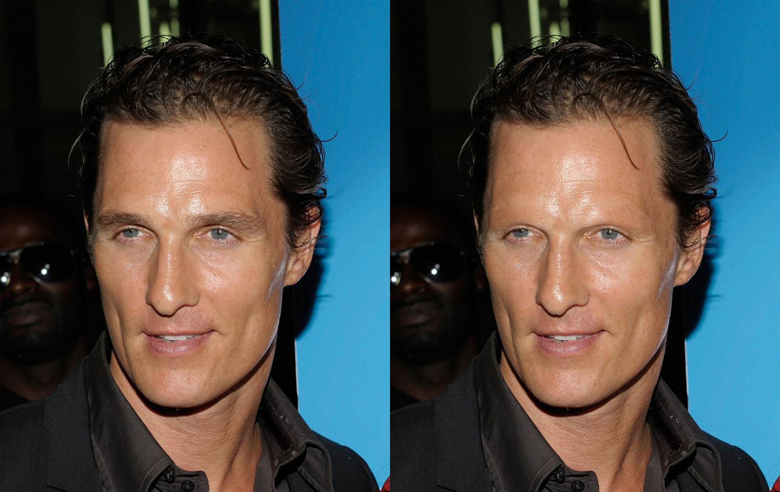 Celebs Without Eyebrows Matthew Mcconaughey