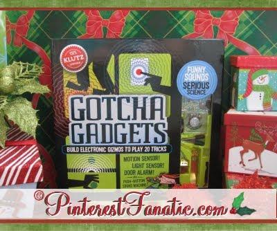 Gotcha Gadgets, Klutz Books, Construct Gizmos, Pull Pranks