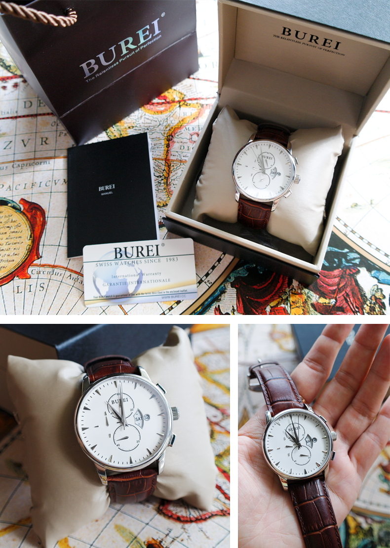 bookish lifestyle fashion product review burei chronograph watch being an amazon top reviewer occasionally comes really nice perks and one of them is getting products for review i wouldn t normally be able to afford
