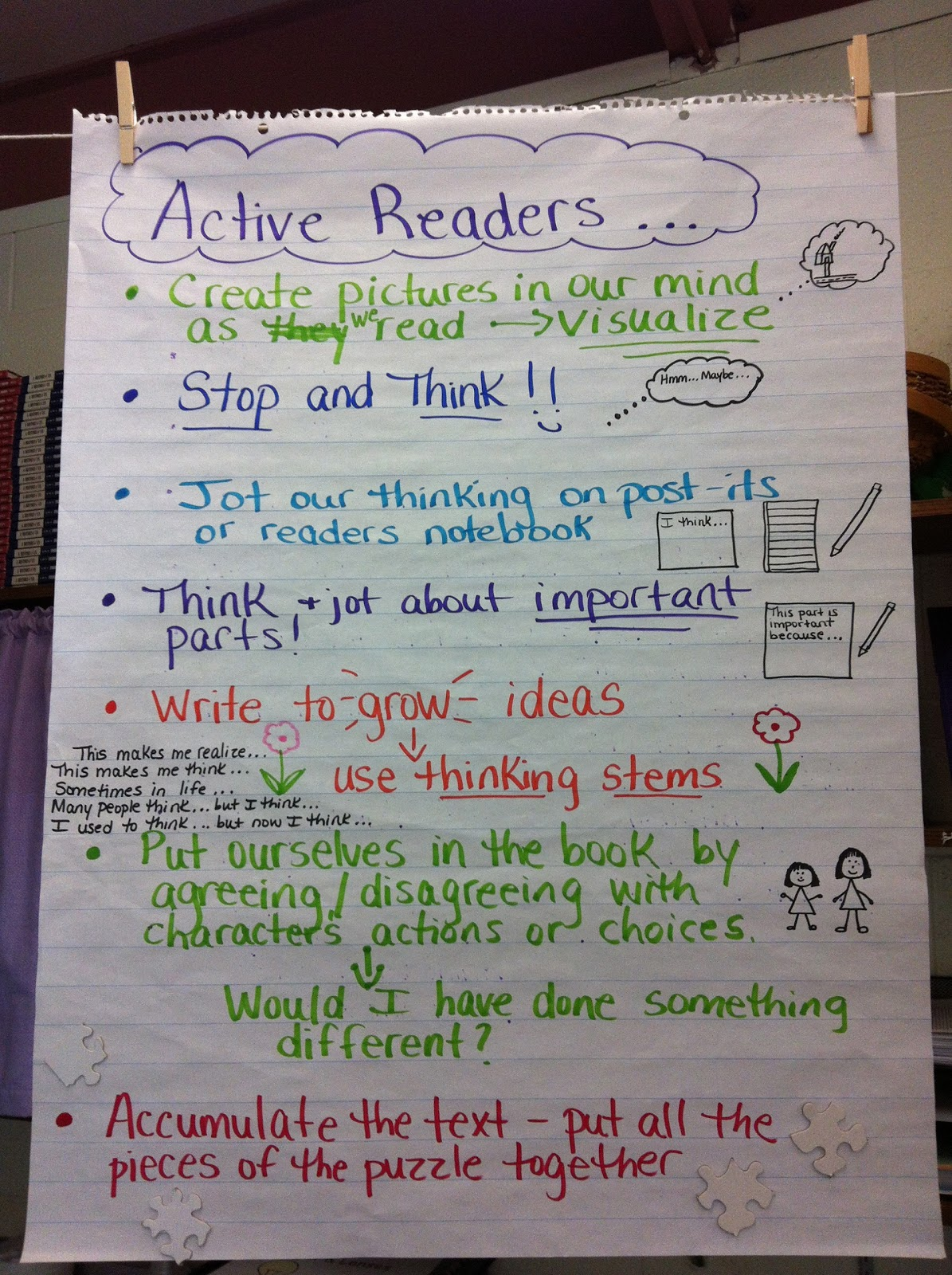 reflective reading Utilizing reflective teaching strategies in the classroom has benefits that enrich and promote learning this article will discuss several that are easy to facilitate.