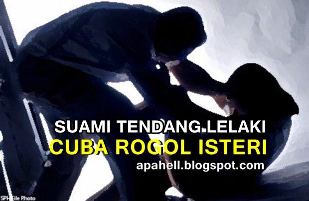 Suami Tendang Lelaki Cuba Rogol Isteri (2 Gambar)