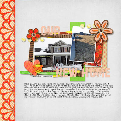 Digital scrapbooking layout by meejay