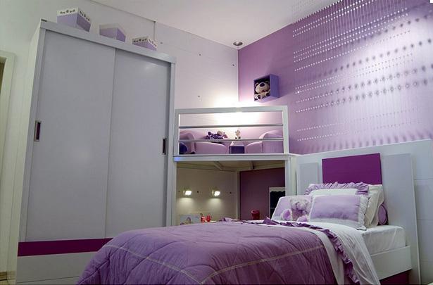 Dormitorio lila para ni a decoraci n de dormitorios - Dormitorio para ninas ...