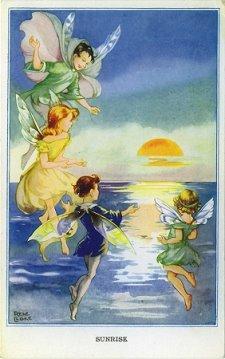 Rene Cloke her books and postcards