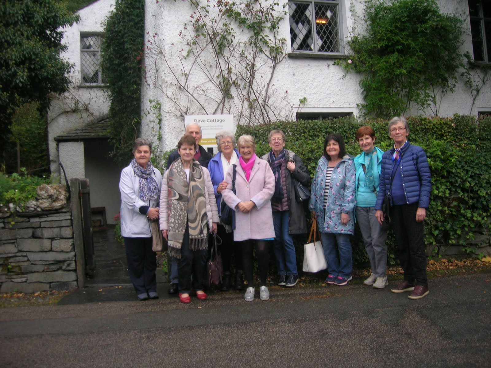 Group at Dove Cottage