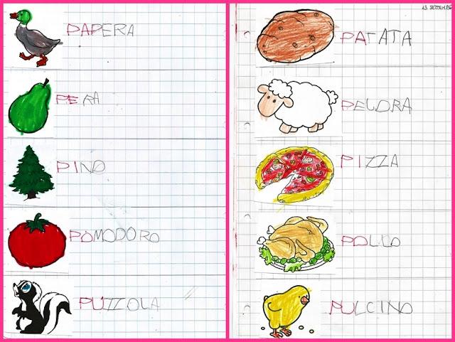 Studiamando liberamente disegni da colorare di parole che for Parole con la ge