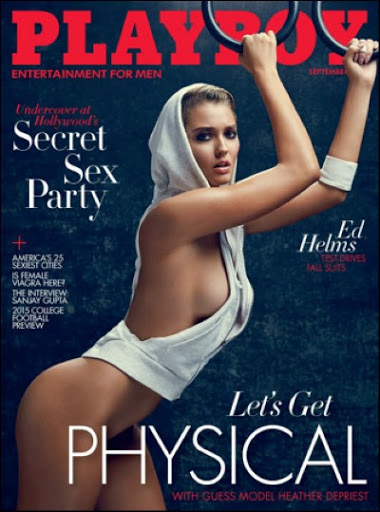 Download Playboy Magazine September 2015 PDF