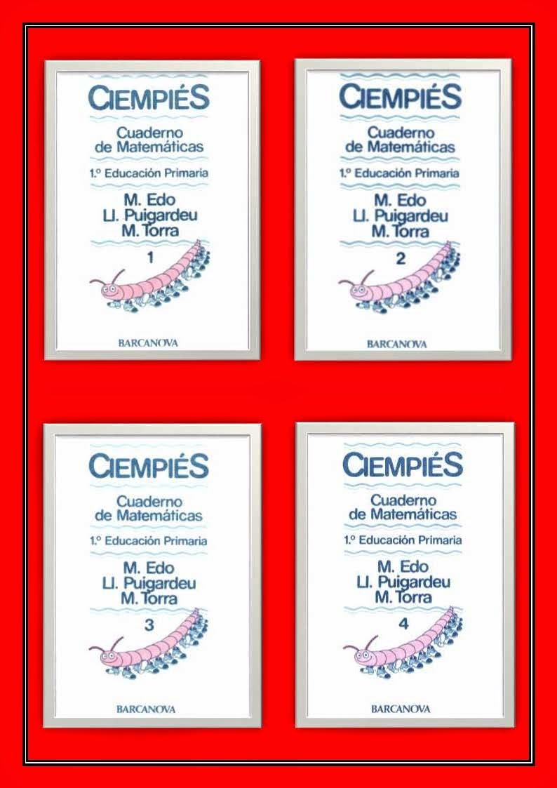 Cuadernos Ciempiés (Matemáticas)