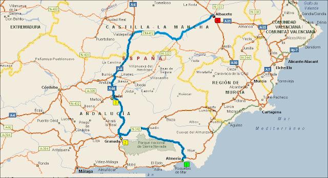 QUE TAL UNA SEGUNDA VUELTA A ESPAÑA EN VESPINO 3%C2%AA+Almer%C3%ADa+-+Albacete