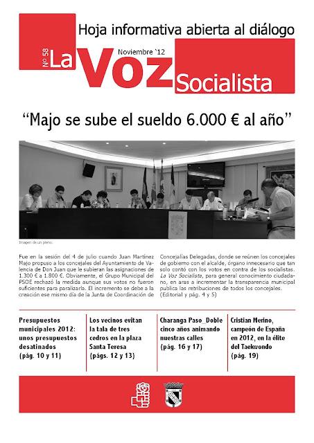La Voz Socialista, número 58