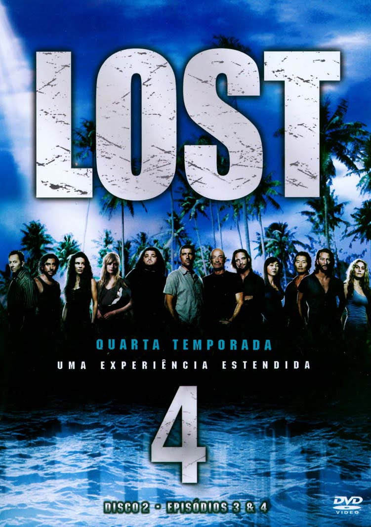 Lost 4ª Temporada Torrent - Blu-ray Rip 720p Dual Áudio (2008)