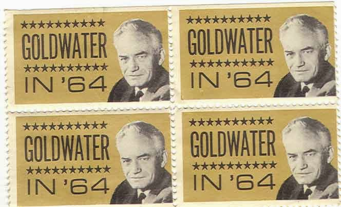 Barry Goldwater Campaign Stamps