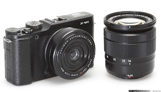 Fujifilm X-M1 and X lens, fujifilm x lens, interchangeable lens, retro camera
