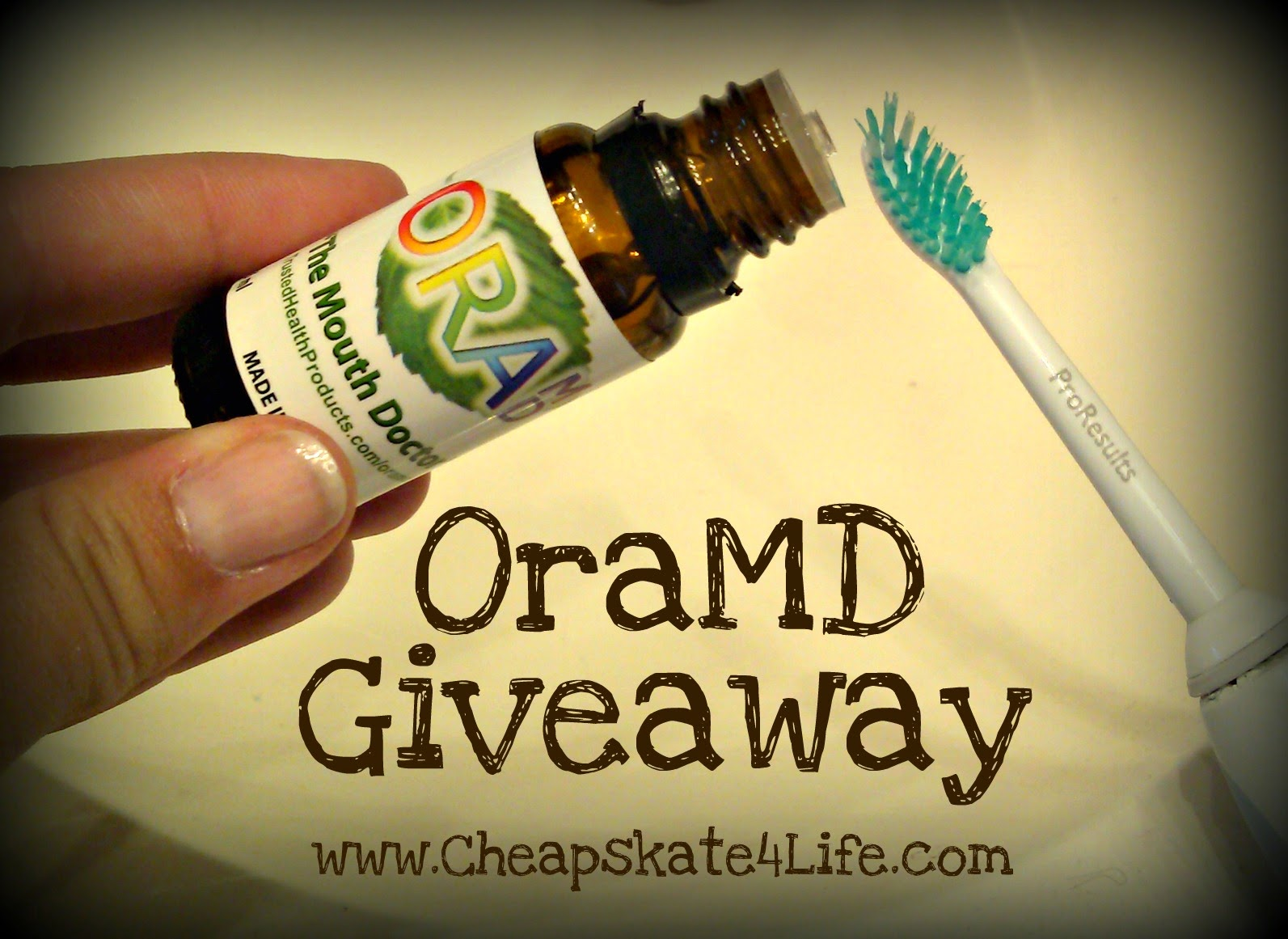 OraMD All-Natural Toothpaste & Mouthwash Giveaway