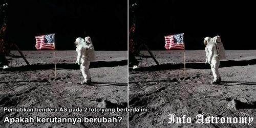 Benar atau Palsu Pendaratan di Bulan?