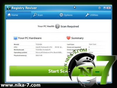Registry Reviver 3.0.1.142 Gratis Full Version