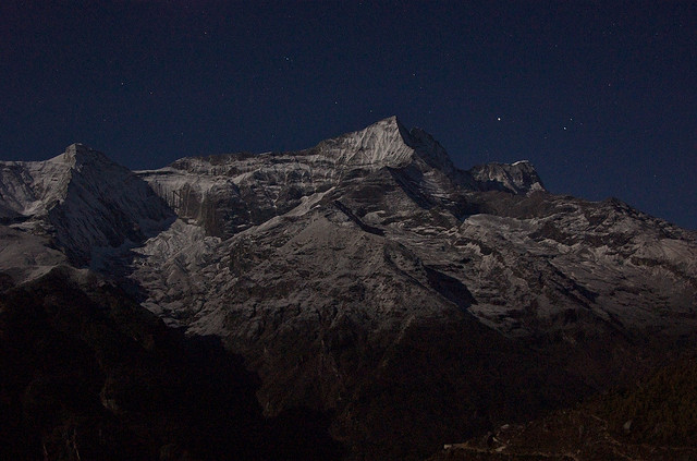 Himalaya at night