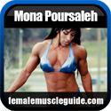 Mona Poursaleh Female Bodybuilder Thumbnail Image 1