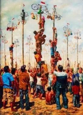 sejarah kelam panjat pinang