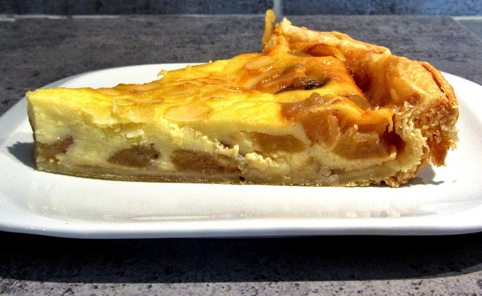 Les recettes de babeth tarte aux pommes la normande - Recette tarte au pomme normande ...