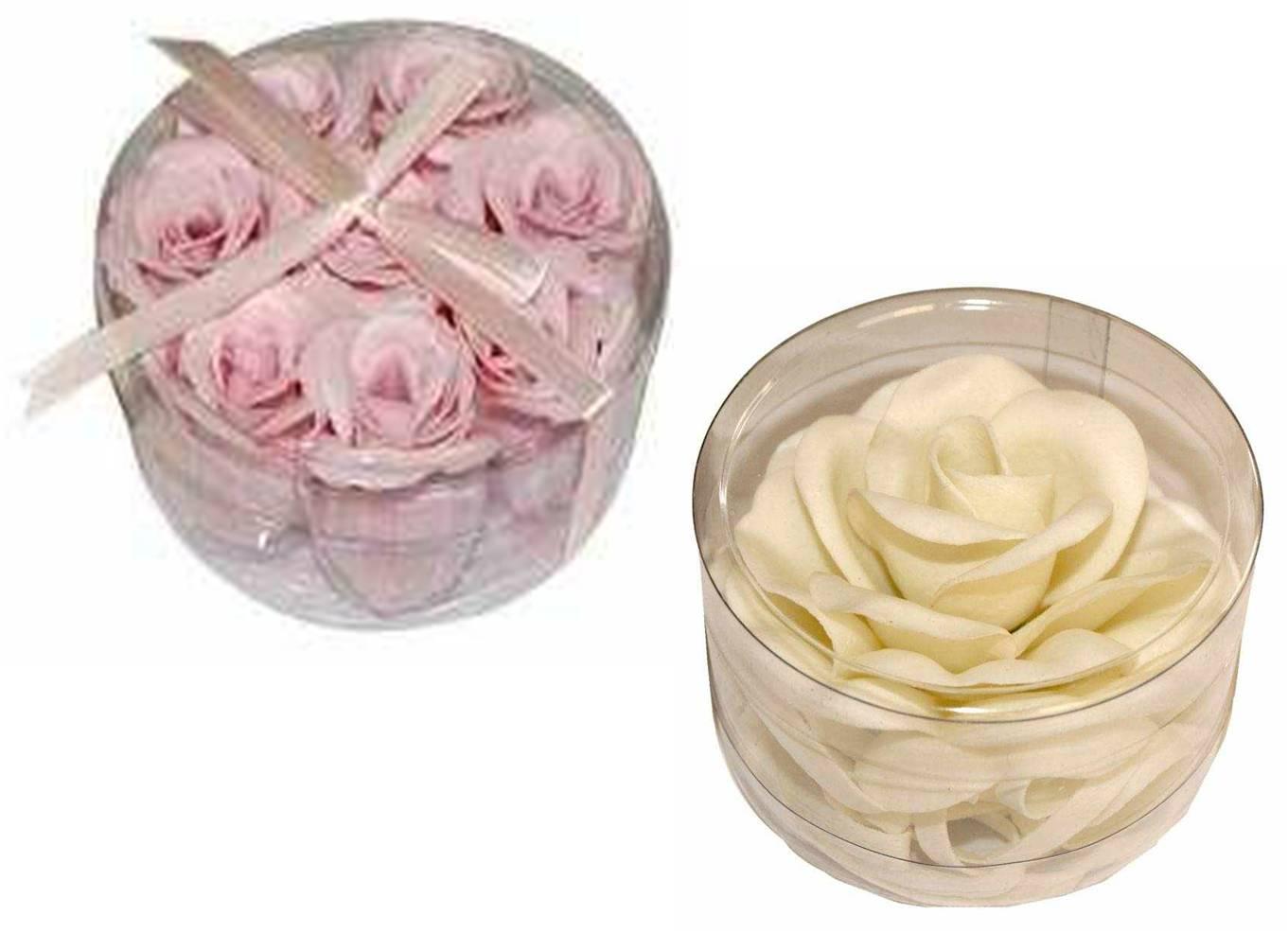 Arte color como hacer rosas con jabon de tocador - Hacer tocador para nina ...