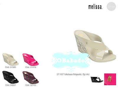 Dicas e Fotos da Coleção Melissa 2013