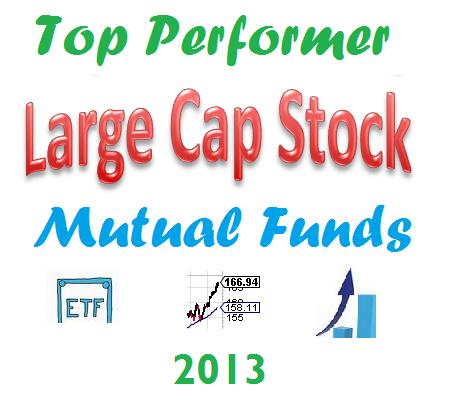Top Performing U.S. Large Cap Stock Mutual Funds 2013