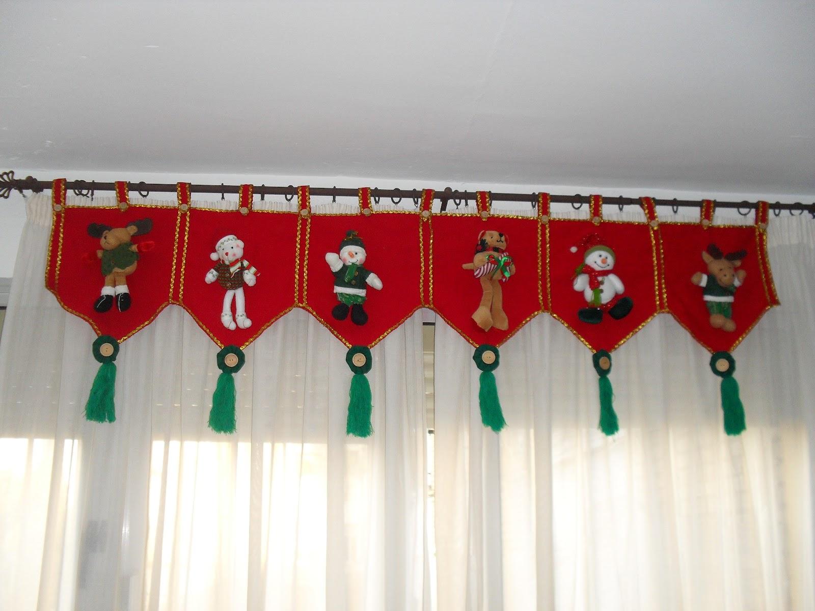Cortinas De Baño Con Motivos Navidenos:Manualidades navideñas en paño lenci: Portafolio de servicios