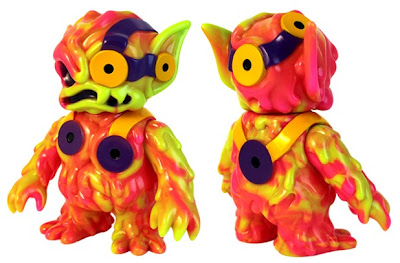 Super7 - Sherbert Swirl Ooze Bat Vinyl Figure by Chanmen