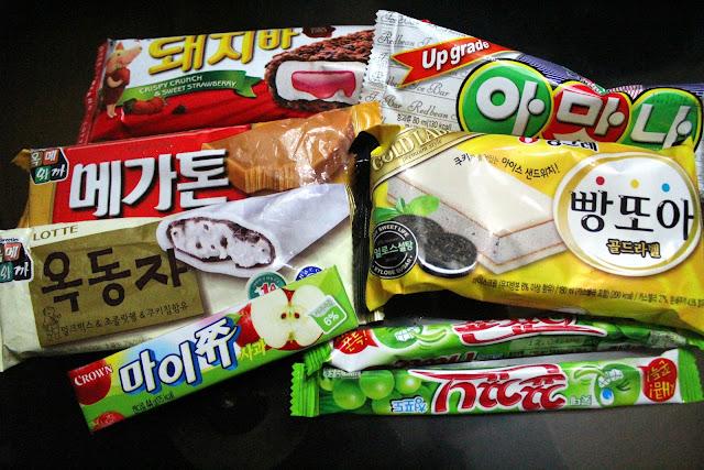 Dine over diet korean ice cream for Korean fish ice cream