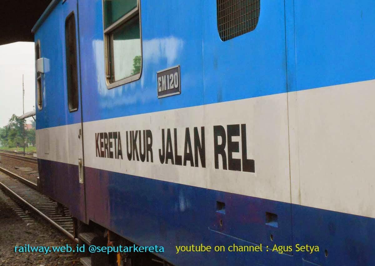 Gambar Kereta Ukur Jalan REL