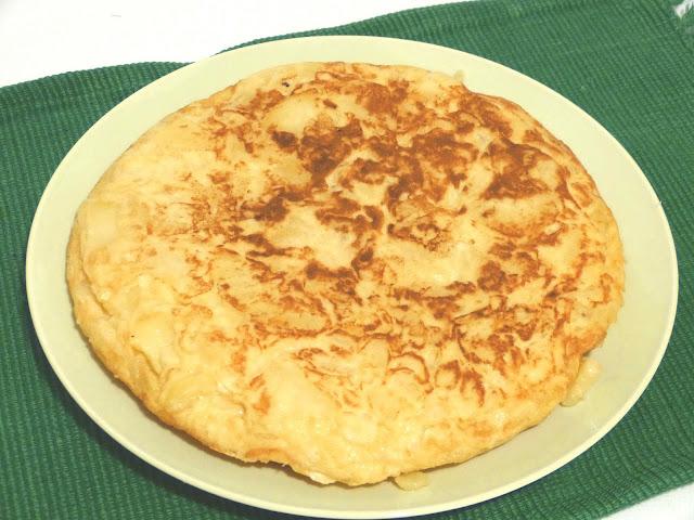 Tortilla de patatas (en microondas)