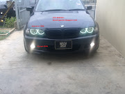BMW E46 SMG white fog light. Bulb: White 5500k halogen. Wattage: 55W