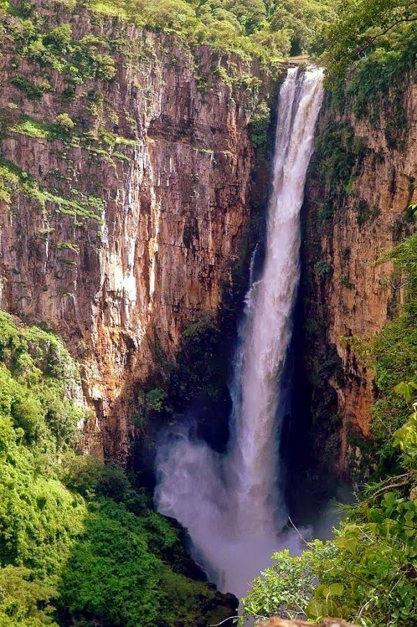 Kalambo Falls, Zambia, Tanzania