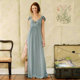 Gabrielle soft blue maxi dress by Anusha