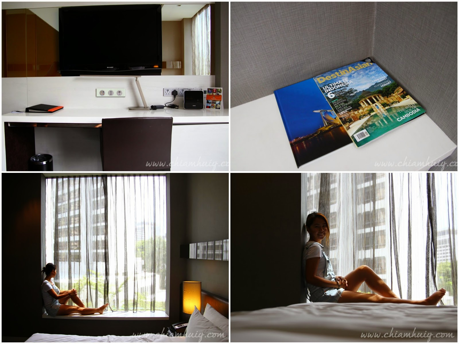 singapore staycation review the quincy hotel celine chiam i love love love the sleek simple design which compliments the basic gray white color theme the windows are lined with translucent drapes to let in some