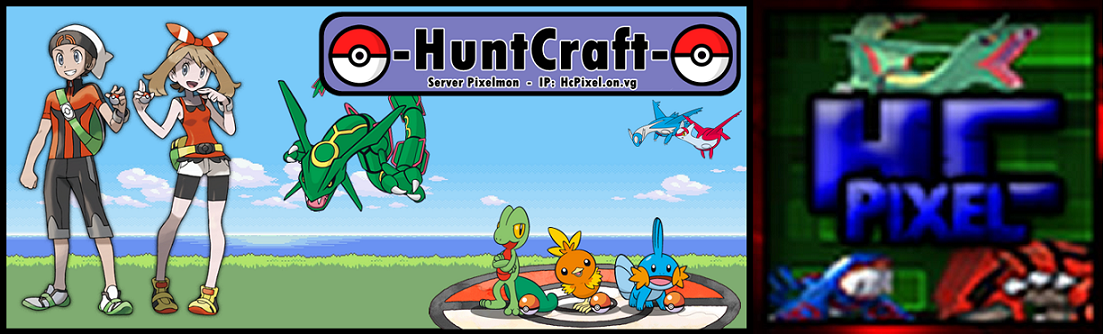 Huntcraft Pixelmon