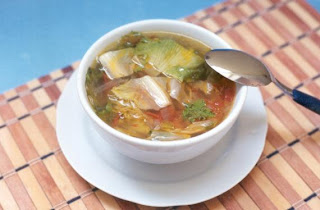 Sopa de escarola light