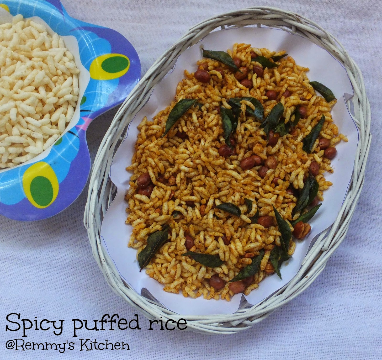 Kara pri / Spicy puffed rice / Spicy murmura