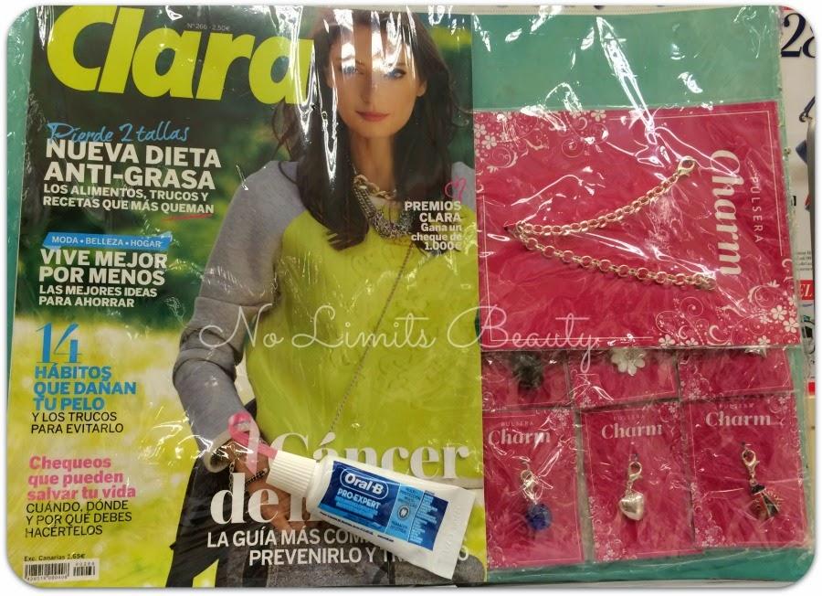 Regalos revistas Octubre 2014: Clara