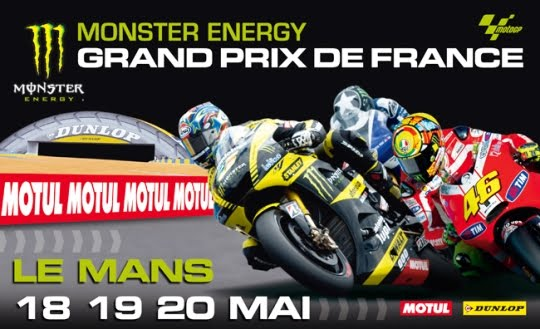 Jadwal kualifikasi dan Balap motoGP Le Mans Perancis 19 &#8211; 20 Mei 2012