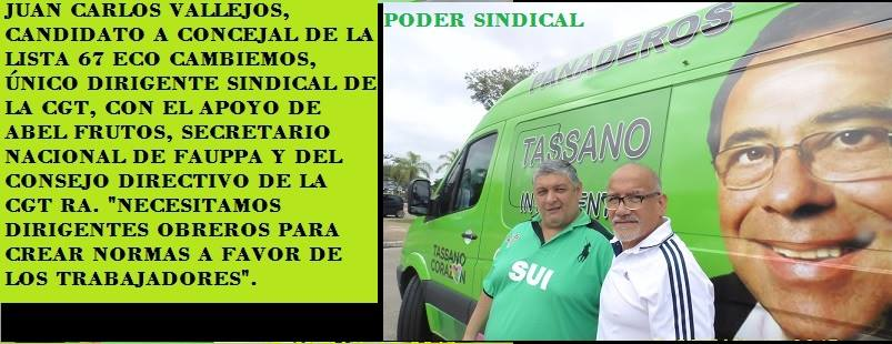 PODER SINDICAL MERCOSUR
