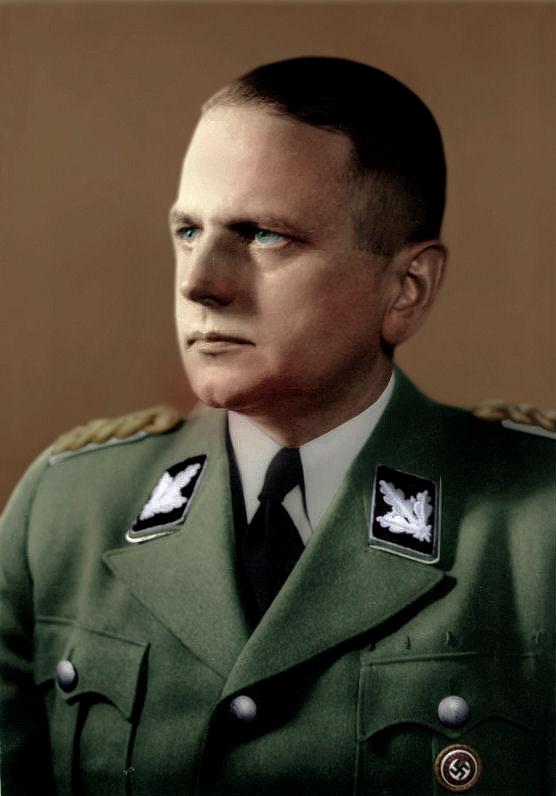 Otto Ohlendorf Einsatzgruppen Nazi exterminators