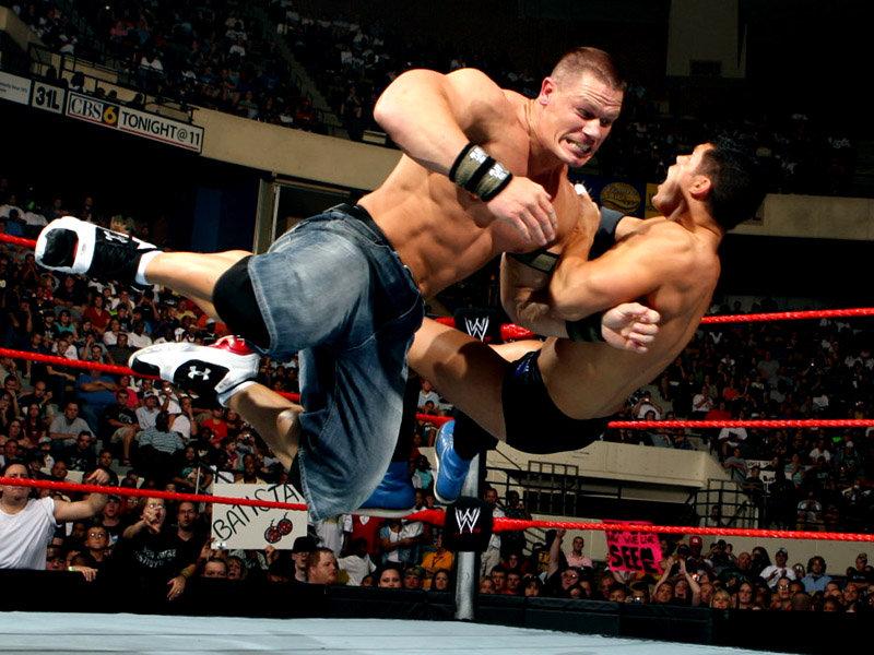 WWE Raw John Cena